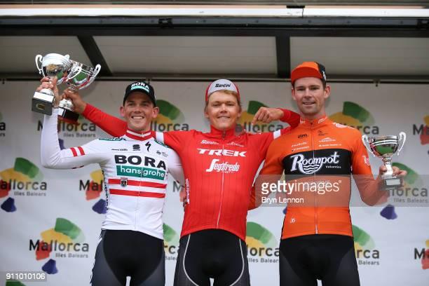 27th Mallorca Challenge / Trofeo Lloseta Andratx Podium / Gregor MUHLBERGER / Toms SKUJINS / Elmar REINDERS / Celebration / Trophy / Lloseta -...