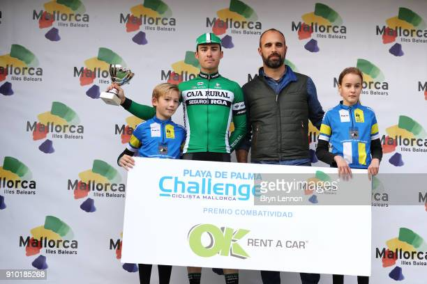 27th Playa de Palma Mallorca Challenge / Trofeo Campos Podium / Gonzalo SERRANO Most Combative Rider / Celebration / Trophy / Porreres Ses Salines /...