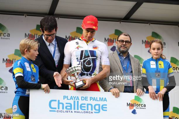27th Playa de Palma Mallorca Challenge / Trofeo Campos Podium / Albert TORRES Best Spanish Rider / Celebration / Trophy / Porreres Ses Salines /...