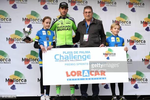 27th Playa de Palma Mallorca Challenge / Trofeo Campos Podium / Aitor GONZALEZ Special Sprint Prize / Celebration / Trophy / Porreres Ses Salines /...