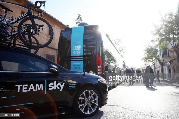 27th Playa de Palma Mallorca Challenge / Trofeo Campos Start / Team SKY / Car / Bus / Porreres Ses Salines / Mallorca Challenge /