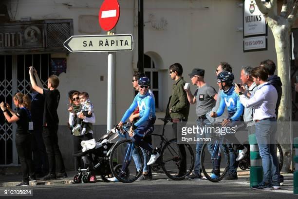 27th Playa de Palma Mallorca Challenge / Trofeo Campos Start / Team Movistar / Fans / Public / Children / Porreres Ses Salines / Mallorca Challenge /