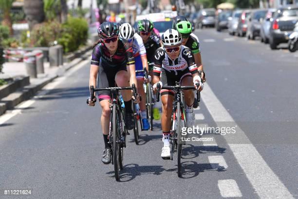 28th Tour of Italy 2017 / Women / Stage 10 Alexis RYAN / Coryn RIVERA / Torre del Greco Torre del Greco / Women / Giro Rosa /