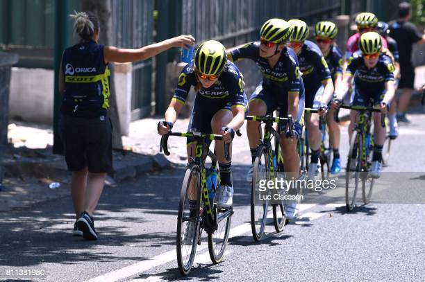 28th Tour of Italy 2017 / Women / Stage 10 Feed Zone / Jenelle CROOKS / Torre del Greco Torre del Greco / Women / Giro Rosa /