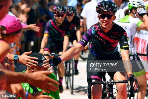 28th Tour of Italy 2017 / Women / Stage 2 Alexis RYAN / Zoppola Mantereale Valcellina / Women / Giro Rosa /