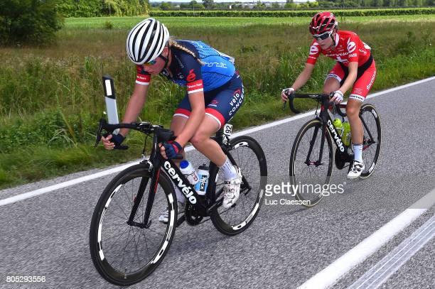 28th Tour of Italy 2017 / Women / Stage 2 Claudia KOSTER / Nicole HANSELMANN / Zoppola Mantereale Valcellina / Women / Giro Rosa /