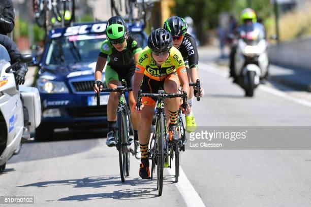 28th Tour of Italy 2017 / Women / Stage 9 Anna TREVISI / Ma JASINSKA / Lauren KITCHEN / Palinuro Polla 444m / Women / Giro Rosa /