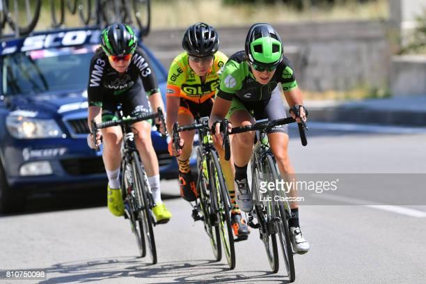 28th Tour of Italy 2017 / Women / Stage 9 Ma JASINSKA / Anna TREVISI / Lauren KITCHEN / Palinuro Polla 444m / Women / Giro Rosa /