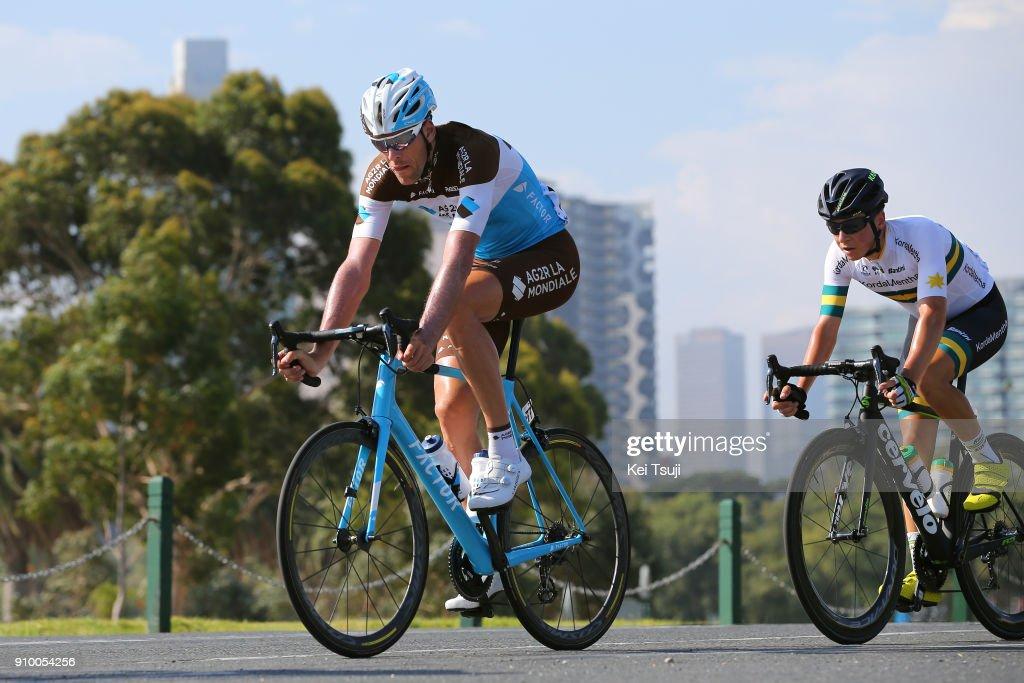 Cycling: 2nd Toward Zero Race Melbourne 2018 / Cadel Evans - Albert Park GP/ Men : ニュース写真