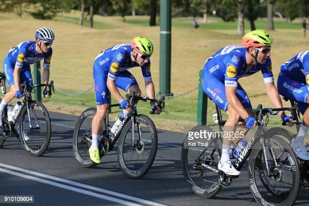 2nd Toward Zero Race Melbourne 2018 / Cadel Evans Albert Park GP/ Men Elia VIVIANI / Fabio SABATINI / Albert Park F1 GP Circuit Albert Park F1 GP...