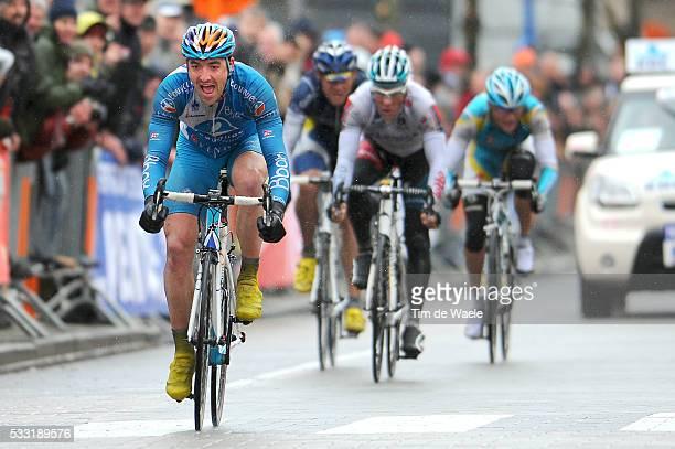 Days De Panne 2010 / Stage 2 Arrival Sprint / Sebastien TURGOT / Philippe GILBERT / Andry GRIVKO / Zottegem - Sint-Idesbald / 3 Daagse / 3 Jours /...