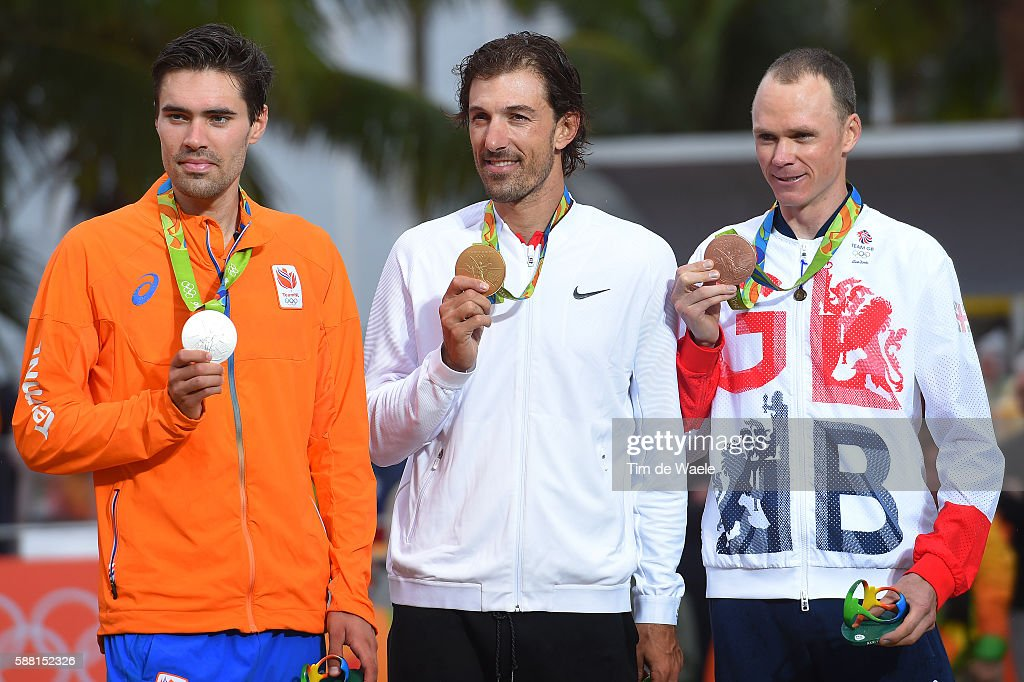 Cycling: 31st Rio 2016 Olympics / Men's Individual Time Trial : News Photo