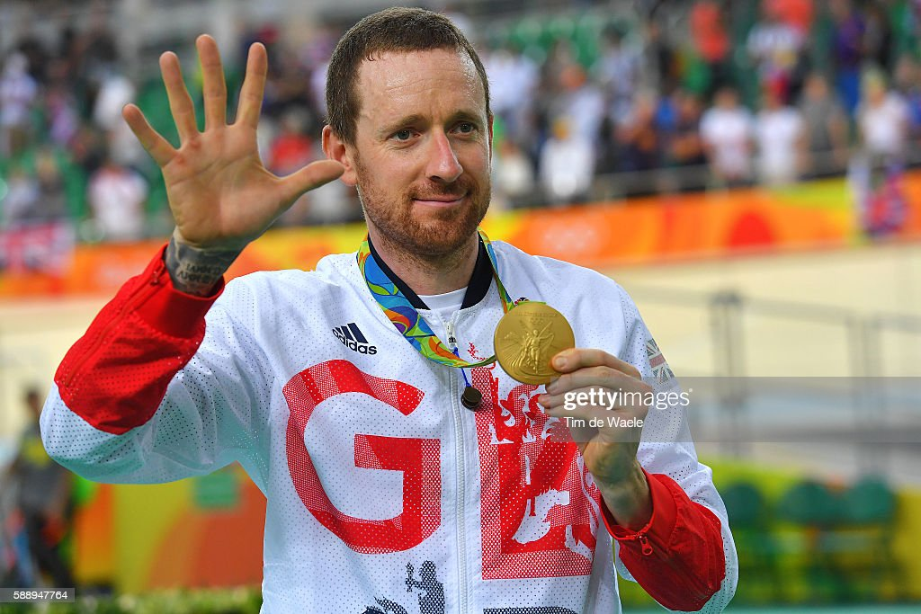 Cycling: 31st Rio 2016 Olympics / Track Cycling: Men's Team Pursuit Finals : News Photo