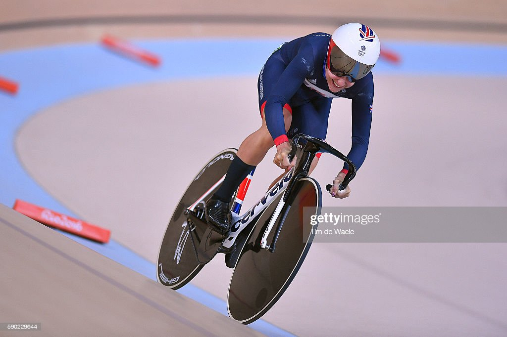 Cycling: 31st Rio 2016 Olympics / Track Cycling: Women's Omnium Flying Lap 5\6 : News Photo