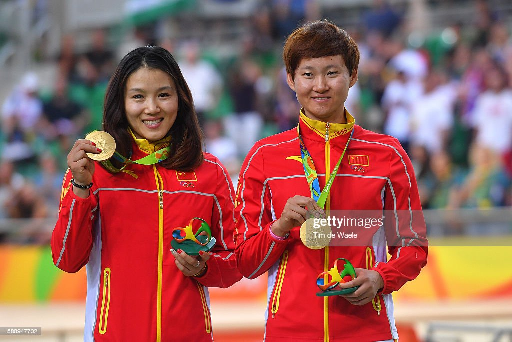 Cycling: 31st Rio 2016 Olympics / Track Cycling: Women's Team Sprint Finals : News Photo