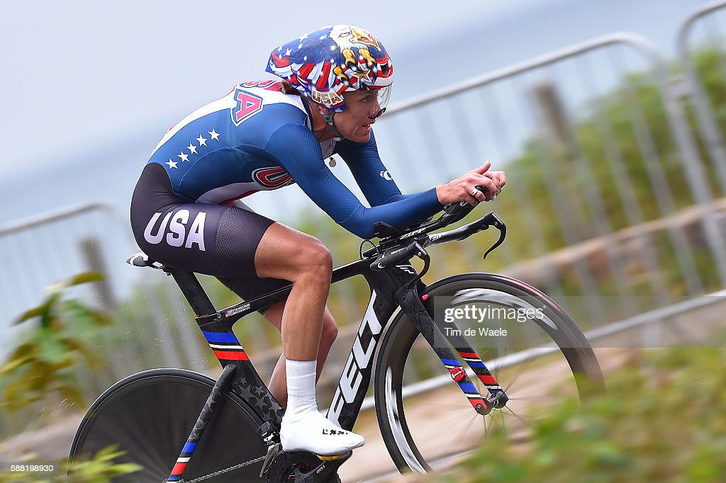 Cycling: 31st Rio 2016 Olympics / Women's Individual Time Trial : News Photo