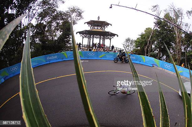 31st Rio 2016 Olympics / Women's Road Race Ting Ying HUANG / Illustration / Fort Copacabana Fort Copacabana Cycling Road / Summer Olympic Games / Tim...