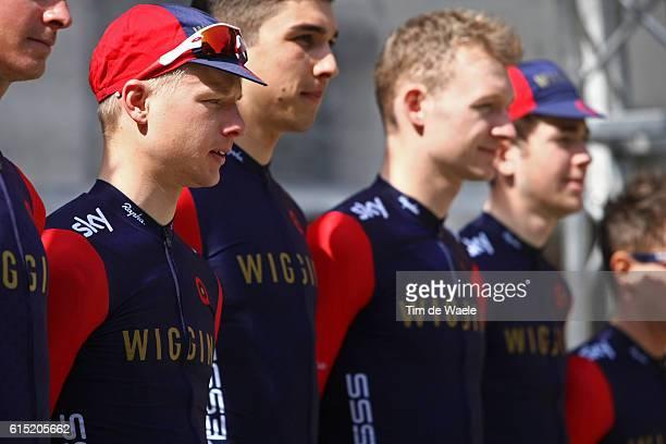 31th Settimana Internazionale Coppi e Bartali 2016/ Stage 2 Start Departure Vertrek / TEAM WIGGINS / Riccione Sogliano al Rubicone / Coppi e Bartali...