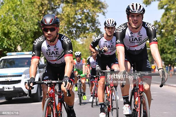 35th Tour of San Juan 2017 / Stage 2 Start / Andrea GUARDINI / Oliviero TROIA / San Juan San Juan / Etapa del Oeste/ Vuelta A San Juan /