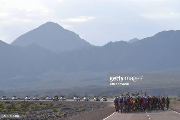 35Th Tour Of San Juan 2017 Stage 2Landscape Peloton Mountains /San Juan San Juan / Etapa Del Oeste/ Vuelta A San Juan ©Tim De Waele