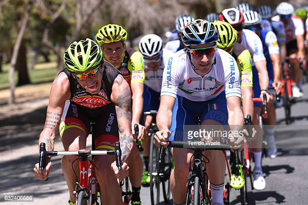 35th Tour of San Juan 2017 / Training Filippo POZZATO / Elia VIVIANI / Vuelta A San Juan /