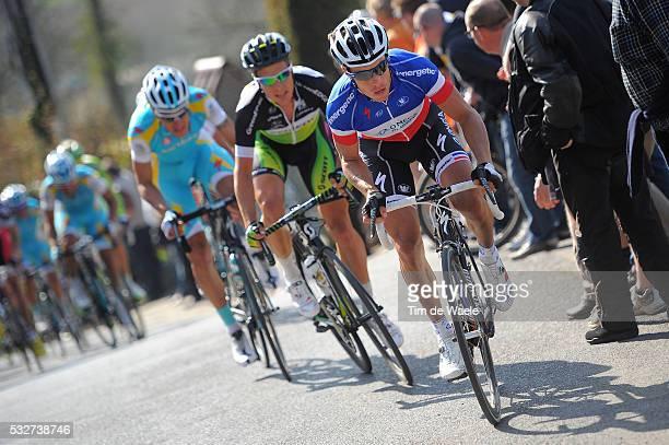 36th 3 Days De Panne 2012 / Stage 1 Sylvain CHAVANEL / Sebastian LANGEVELD / Middelkerke - Oudenaarde / Drie Daagse Trois Jours / Rit Etape /Tim De...