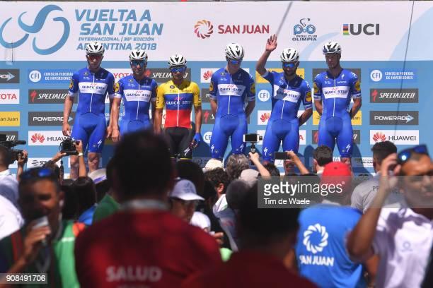 36th Tour of San Juan 2018 / Stage 1 Start / Podium / Team Quick-Step Floors / Fernando GAVIRIA / Maximiliano Ariel RICHEZE / Remi CAVAGNA / Alvaro...