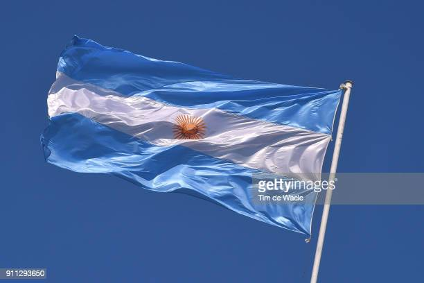 36th Tour of San Juan 2018 / Stage 6 Illustration / Argentinean Flag / San JuanCantoniDifunta Correa San JuanCantoni / Vuelta a San Juan /