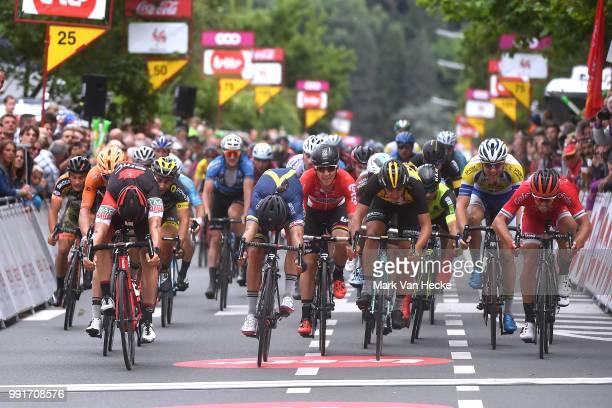 38Th Tour Wallonie 2017 Stage 4Arrival Sprint JeanPierre Drucker / Adam Blythe / Jonas Van Genechten / Bruxelles Profondeville Voo Tw