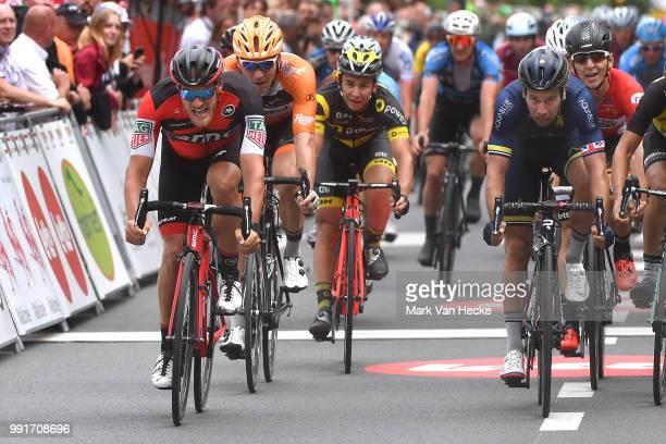 38Th Tour Wallonie 2017 Stage 4Arrival Sprint JeanPierre Drucker / Adam Blythe / Bruxelles Profondeville Voo Tw