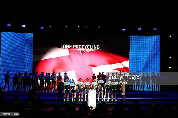 3nd Tour of Dubai 2016 / Team Presentation Team One Pro Cycling / GOSS Matthew / BARKER Yanto / BIALOBLOCKI Marcin / LANDER Sebastian / MCCORMICK...