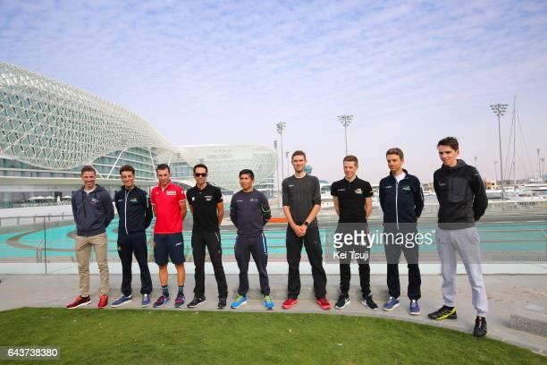 3rd Abu Dhabi Tour 2017 / Press Conference Rui Alberto FARIA DA COSTA / Romain BARDET / Vincenzo NIBALI / Tanel KANGERT / Nairo QUINTANA ROJAS /...