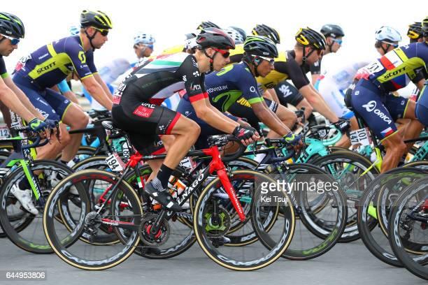 3rd Abu Dhabi Tour 2017 / Stage 2 Rui Alberto FARIA DA COSTA / Nairo QUINTANA ROJAS / Abu DhabiAl Maryah Island Abu DhabiBig Flag / Ride to Abu Dhabi...