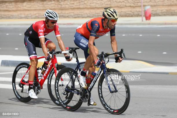 3rd Abu Dhabi Tour 2017 / Stage 2 Vincenzo NIBALI / Alberto CONTADOR VELASCO / Abu DhabiAl Maryah Island Abu DhabiBig Flag / Ride to Abu Dhabi /...