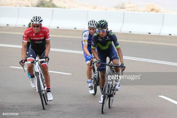3rd Abu Dhabi Tour 2017 / Stage 3 Alberto CONTADOR VELASCO / Nairo QUINTANA ROJAS / Julian ALAPHILIPPE / Hazza Bin Zayed Stadium Jebel Hafeet 1025m /...