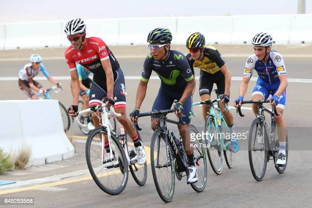3rd Abu Dhabi Tour 2017 / Stage 3 Alberto CONTADOR VELASCO / Nairo QUINTANA ROJAS / Julian ALAPHILIPPE / George BENNETT / Romain BARDET / Hazza Bin...