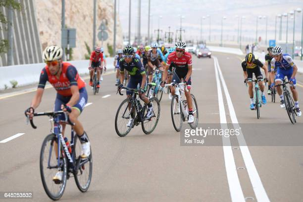 3rd Abu Dhabi Tour 2017 / Stage 3 Vincenzo NIBALI / Nairo QUINTANA ROJAS / Alberto CONTADOR VELASCO / Julian ALAPHILIPPE / George BENNETT / Hazza Bin...