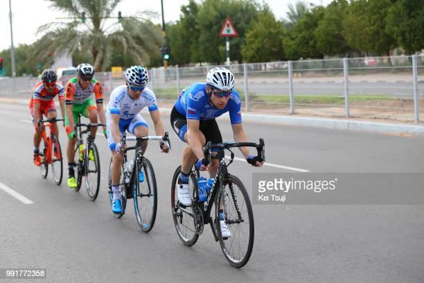 3Rd Abu Dhabi Tour 2017 Stage 3Simone Andreetta / Stephen Clancy / Alan Marangoni / Pavel Brutt / Hazza Bin Zayed Stadium Jebel Hafeet 1025M / Ride...