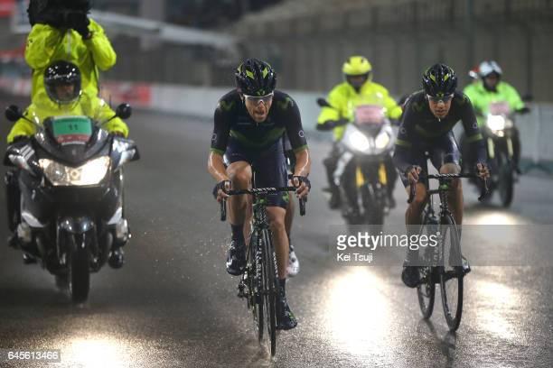 3rd Abu Dhabi Tour 2017 / Stage 4 Alex DOWSETT / Jorge ARCAS / Yas Marina Circuit Yas Marina Circuit / Ride to Abu Dhabi / Yas Island Stage /