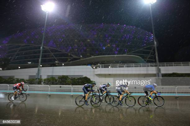 3rd Abu Dhabi Tour 2017 / Stage 4 Rafael VALLS FERRI / Alex DOWSETT / Jorge ARCAS / Patrick KONRAD / Kirill SVESHNIKOV / Yas Marina Circuit Yas...