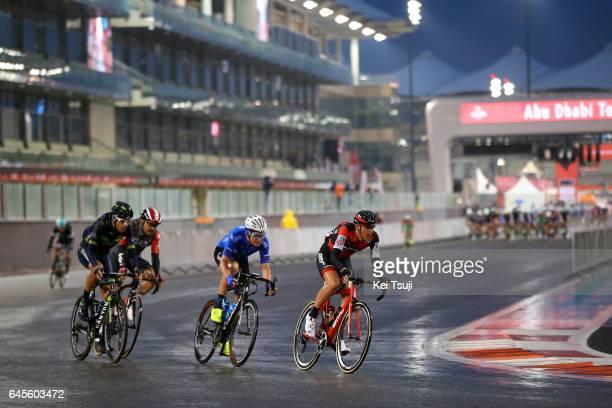 3rd Abu Dhabi Tour 2017 / Stage 4 Rafael VALLS FERRI / Jorge ARCAS / Kirill SVESHNIKOV / Dylan TEUNS / Yas Marina Circuit Yas Marina Circuit / Ride...