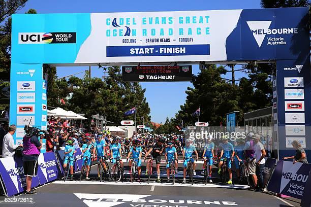 3rd Cadel Evans Great Ocean Road Race 2017 / Men Start / Cadel EVANS / Geelong Waterfront Geelong Waterfront / Men / Great Ocean Road Race / ©Tim De...