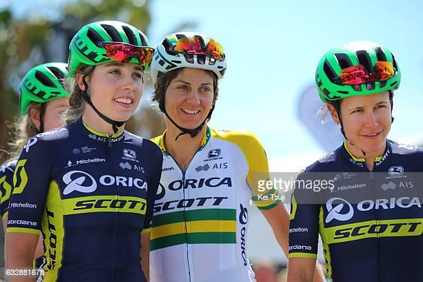 3rd Cadel Evans Great Ocean Road Race 2017 / Women Start / Jenelle CROOKS / Katrin GARFOOT / Amanda SPRATT / Geelong Waterfront Geelong Waterfront /...