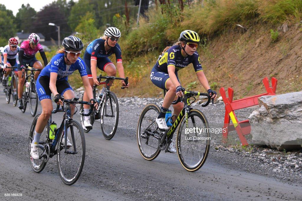 3rd Ladies Tour Of Norway 2017 / Stage 1 Jenelle CROOKS (AUS) / Gravelroad/ Halden - Mysen (105km) / Women / TON /
