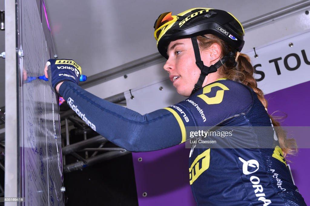 3rd Ladies Tour Of Norway 2017 / Stage 1 Jenelle CROOKS (AUS)/ Halden - Mysen (105km) / Women / TON /