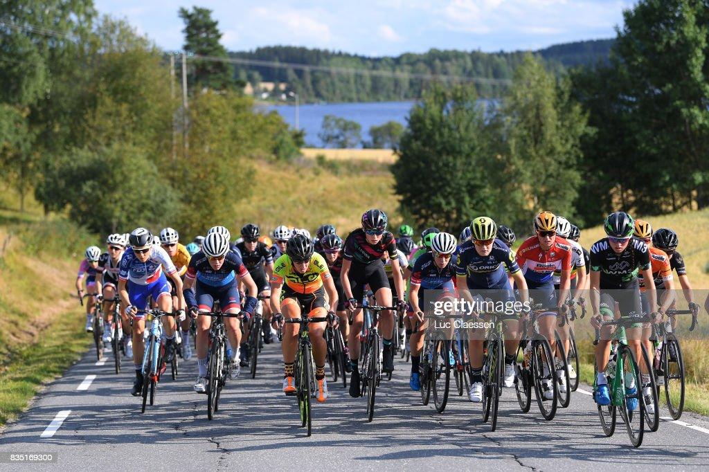 3rd Ladies Tour Of Norway 2017 / Stage 1 Landscape / Peloton / Lake / Halden - Mysen (105km) / Women / TON /