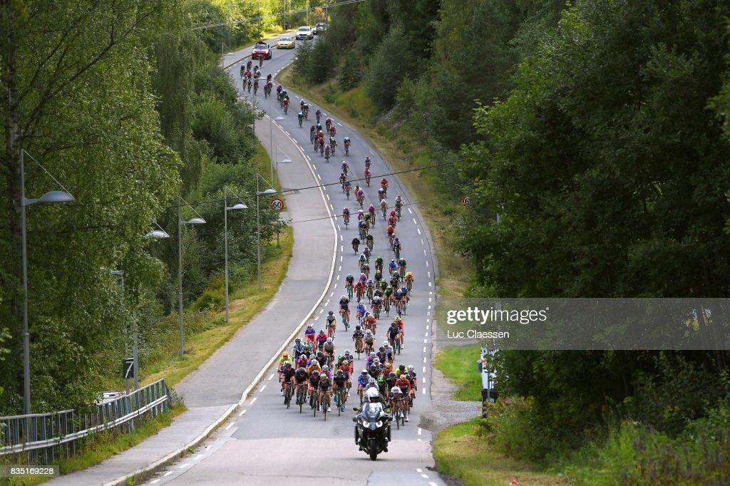 3rd Ladies Tour Of Norway 2017 / Stage 1 Landscape / Peloton / Halden - Mysen (105km) / Women / TON /