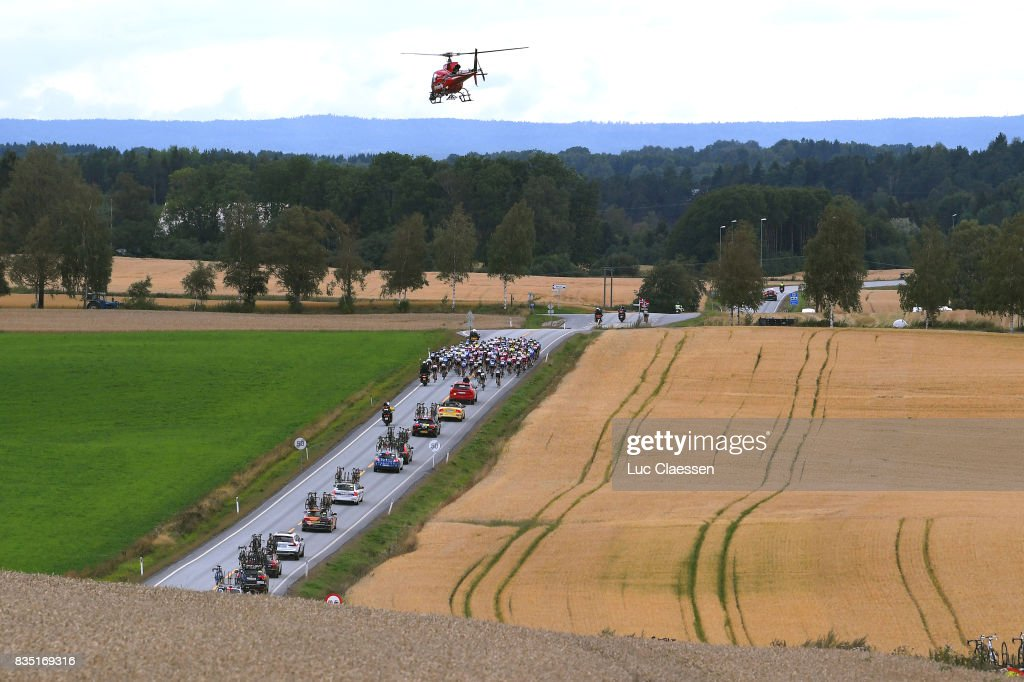 3rd Ladies Tour Of Norway 2017 / Stage 1 Landscape / Peloton / Helicopter/ Halden - Mysen (105km) / Women / TON /