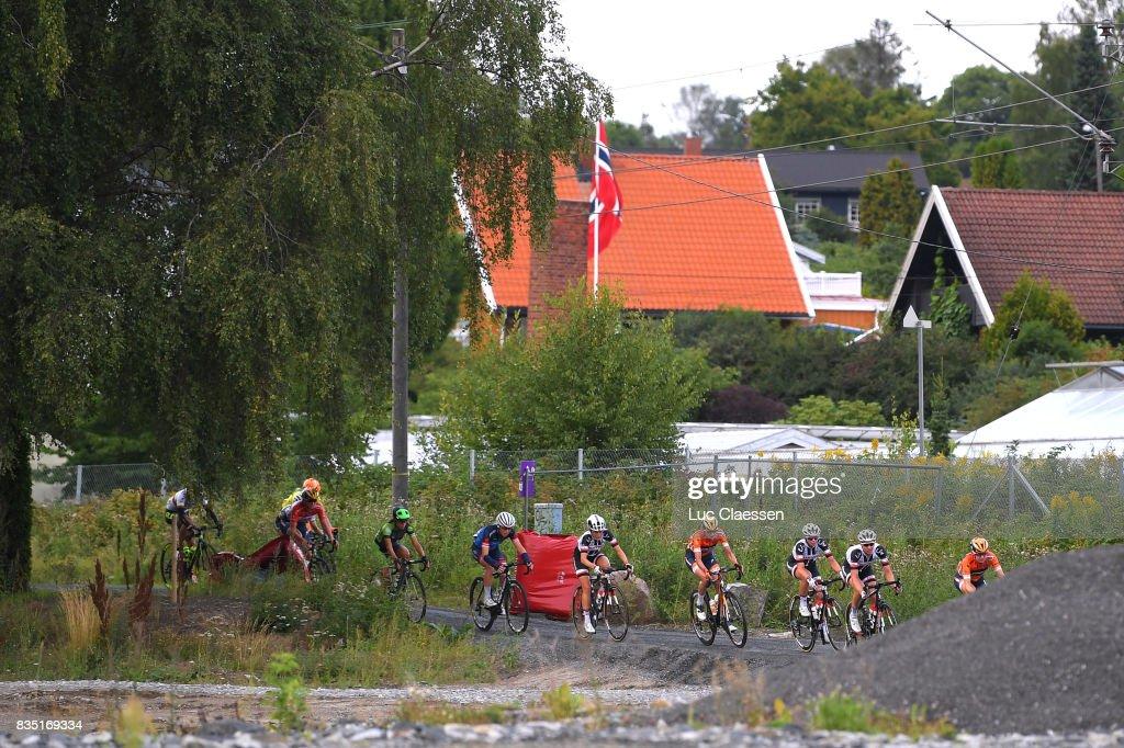 3rd Ladies Tour Of Norway 2017 / Stage 1 Landscape / Peloton / Gravelroad/ Halden - Mysen (105km) / Women / TON /
