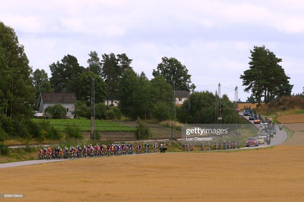 3rd Ladies Tour Of Norway 2017 / Stage 2/ Landscape / Peloton / Sarpsborg - Fredrikstad (140,4km) / Women / TON /